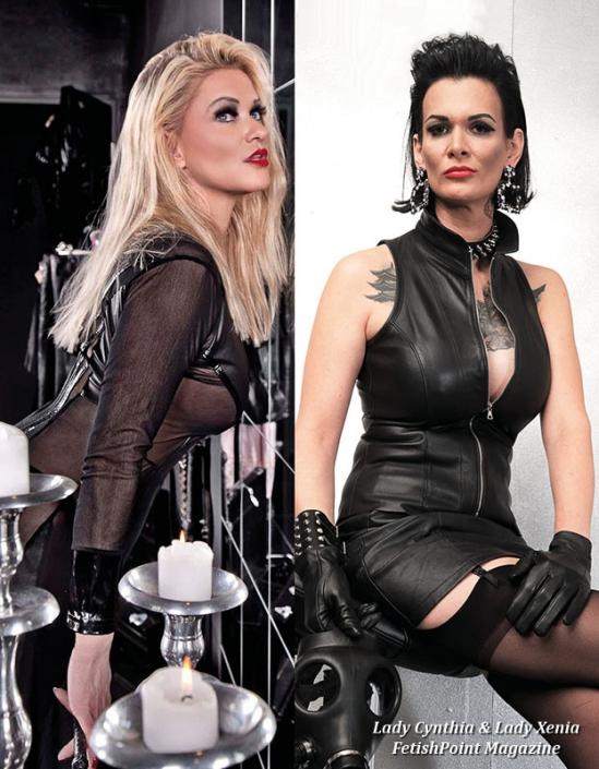 Lady Cynthia & Lady Xenia   Domina Wien   FetishPoint Magazine